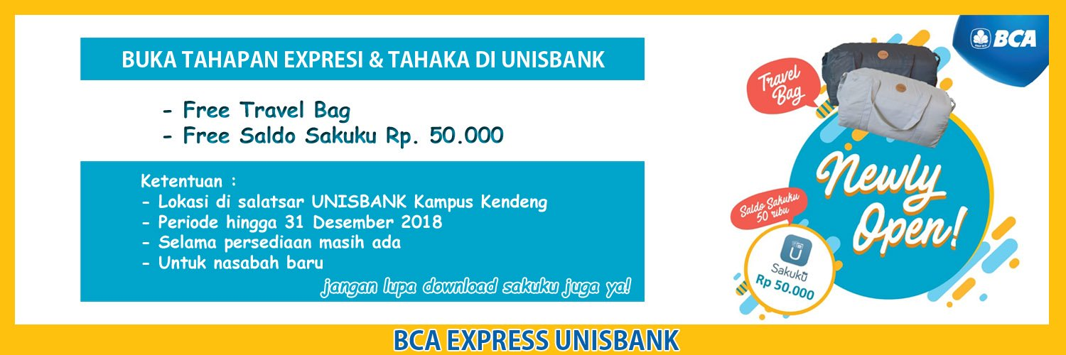 BCA Express UNISBANK